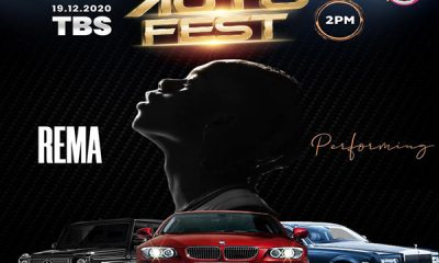 Rema And Nigerian American Rapper Madarocka Joins Ladipoe, Crayon, DJ Jimmy Jatt, DJ Tee For Autofest 2020 - autojosh