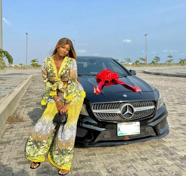 Actress Iyabo Ojo's Daughter, Priscilla, Buys Mercedes-Benz CLA- autojosh