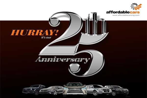Affordable Cars Celebrates 25 Years With 25% Off On Maintenance Services
