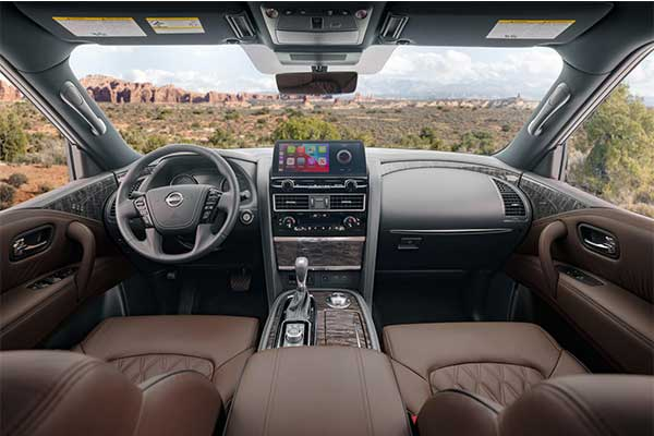 Nissan Armada Refreshed For 2021 With New Front And Interior