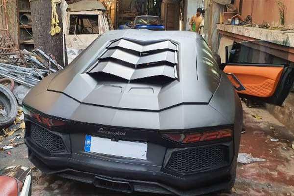 Mumbai Based Tuner Converts A Honda Civic To A Lamborghini Aventador