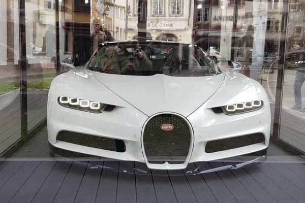 Benzema Bugatti Chiron