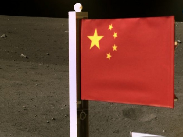 China Becomes Second Nation To Plant Flag On The Moon - autojosh