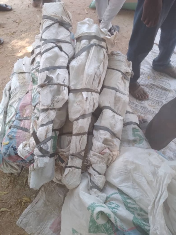 Nigerian Customs Service Impound Truck Loaded With 73 Locally-made Guns Hidden Inside Bag Of Rice - autojosh