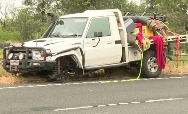 Toyota Land Cruiser Carrying Cocaine, Weed And Guns Crashes Into Camaro - autojosh
