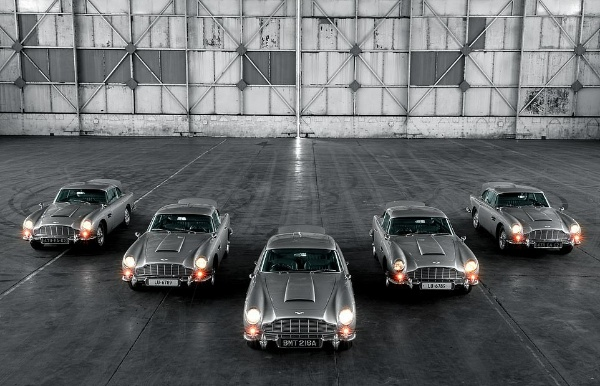 Aston Martin Shows Of The First Five DB5 Goldfinger Continuation Cars Worth ₦6.5b - autojosh