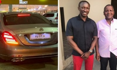 Ghanaian Businessman, Freedom Jacob Caesar, Buys Two Mercedes-Maybach S650 For Xmas - autojosh