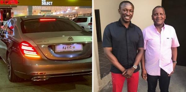 Ghanaian Businessman, Freedom Jacob Caesar, Buys Two Mercedes-Maybach S650 For Xmas - autojosh