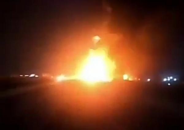 Fuel-laden Tanker Goes Up In Flames On Magboro Bridge Outward Lagos-Ibadan Expressway - autojosh