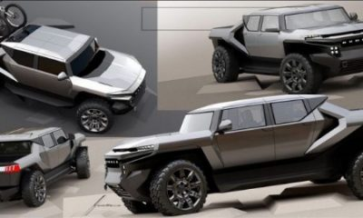 GMC Electric Hummer Early Design Looks Way Better Than The Production-ready Version - autojosh