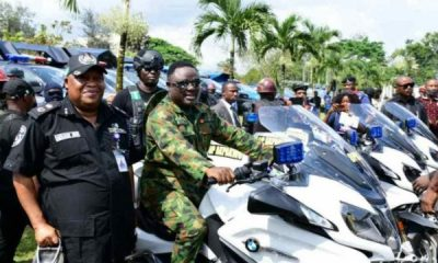 Gov Ayade Launches Operation Akpakwu, Donates 100 Patrol Vehicles To Help Flush Out Crime From Cross River - autojosh