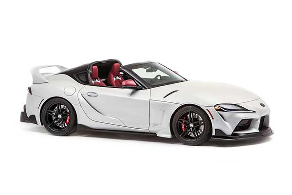 Toyota Showcases One-off GR Supra Open Top At SEMA Show