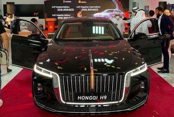Rolls-Royce And Bentley Chinese Rival 'Hongqi' Sees Robust Sales In Jan-May - autojosh