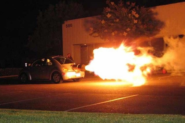 This Jet-Powered VW Beetle Is Up For Sale On Craigslist For $550,000 - autojosh