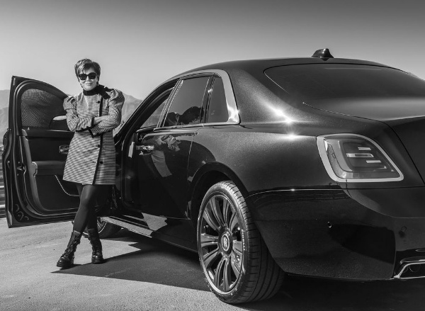 Kardashian's Matriarch, Kris Jenner, Is Officially The First Owner Of 2021 Rolls-Royce Ghost In US - autojosh