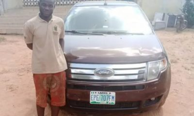 Lagos Car Wash Operator Runs Away With Customer's Car, Arrested While Trying To Sell It - autojosh