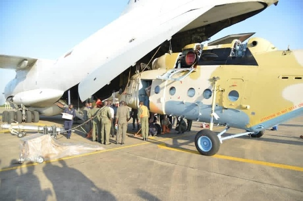 NAF Takes Delivery Of Russian Mi-171E Helicopter To Fight Boko Haram - Autojosh