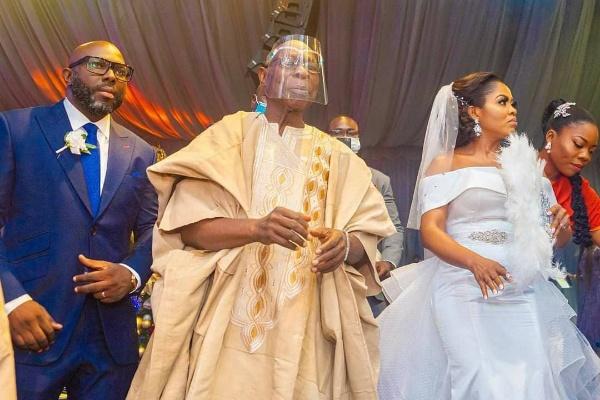 Obasanjo's Son, Seun, Weds, Gift Wife Mercedes GLE 300 SUV - autojosh