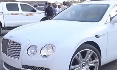 Ooni Of Ife Gets Bentley Gift From Pastor Alex As He Celebrates 5 Years On Throne - autojosh