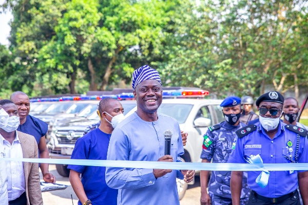 Oyo Gov. Seyi Makinde Reinforces Amotekun With 33 Vehicles And 396 Motorcycles- autojosh