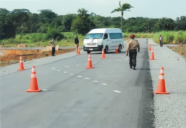2,000+ Peace Mass Drivers Drives Through Twisty Cone Course During Refresher Training - autojosh