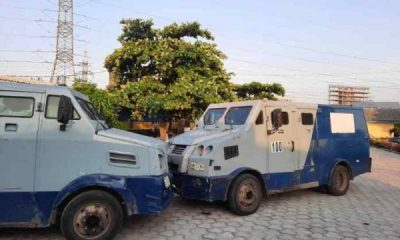 Police Impound Two Bullion Vans In Lagos For Moving Cash Without Escorts - autojosh