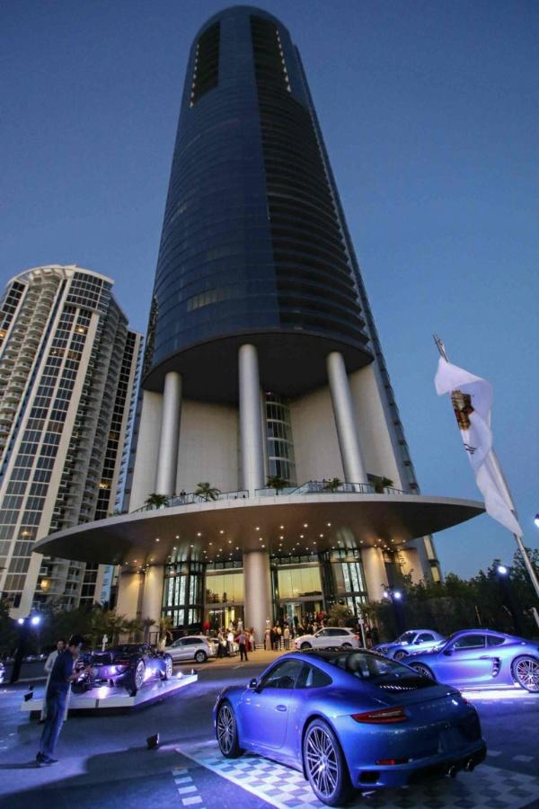 Porsche Design Tower, Where Messi's Bought N3.8b Miami Apartment, Has Three Car Elevators That Take Cars Into Apartments - autojosh
