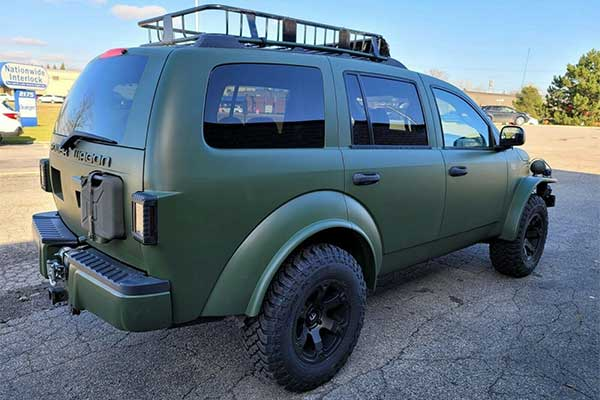 Check Out This One Off Dodge Durango Power Wagon