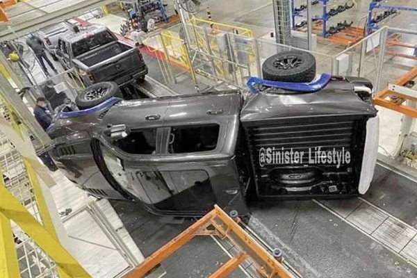 2021 Ram 1500 TRX Falls Off Factory Assembly Line, Set To Be Crushed - autojosh