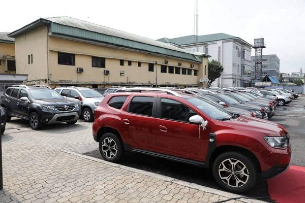 The SUVs gov wike donated
