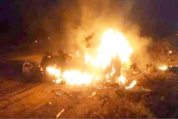 17 Persons Die In Ghastly Accident, Vehicles Burnt In Nasarawa State (PHOTOS)