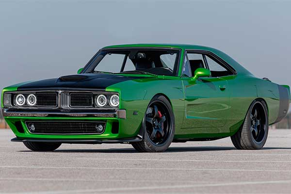 Wow! This 1969 Dodge Charger Is Actually A 2016 Challenger
