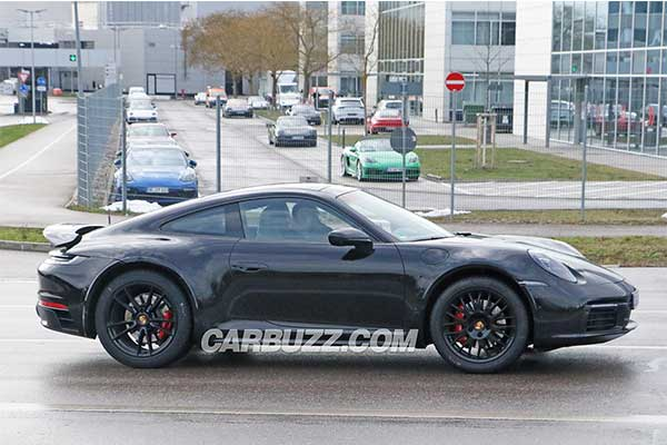 High Riding Porsche 911 Safari Prototype Caught Testing