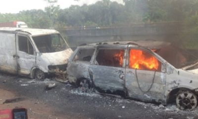 17 Persons Die In Ghastly Accident, Vehicles Burnt In Nasarawa State - autojosh