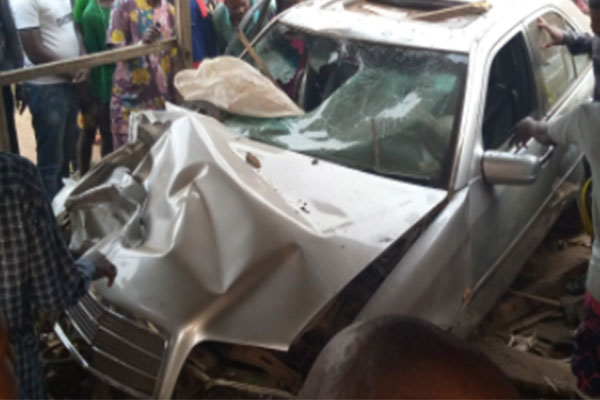 Again! Accident Claims Two Persons, Vehicle Extremely Damaged In Ondo (PHOTOS)