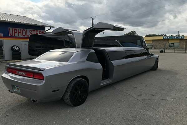 Wow! Check Out This Amazing Dodge Challenger limousine