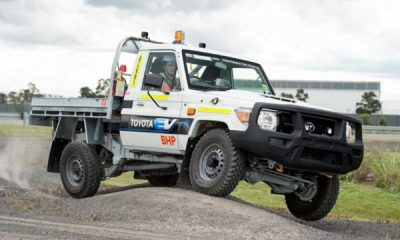 Electric Land Cruiser, Toyota Builds 70 Series That Runs On Batteries For Mining Giant BHP - autojosh