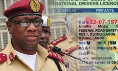 FRSC Set To Launch Digital Driver's License - autojosh