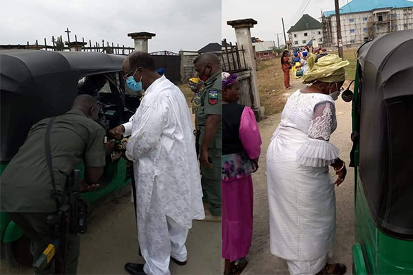 Missed Reactions As Former Rivers Deputy Governor, Wife Spotted Boarding Keke Napep - autojosh