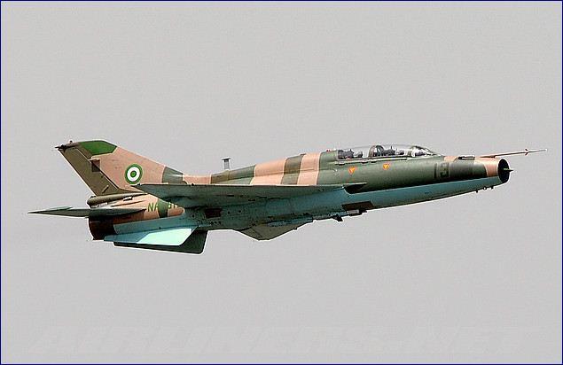 Crashed NAF Alpha Jet