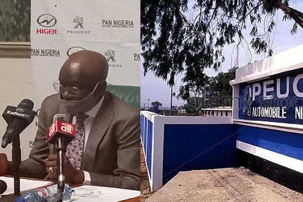 PAN Chairman Berates Condition Of Nigeria's Automobile Industry, Says It Is Stagnant (PHOTOS)