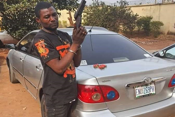 Anambra Police Nab Notorious Armed Robber, Stole Toyota Corolla, Ammunitions Recovered - autojosh