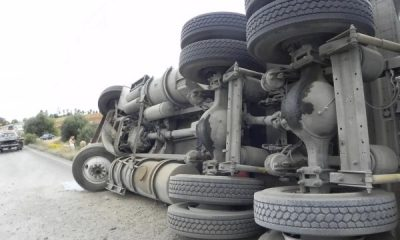 13 Passengers, 70 Animals Killed In A Rollover Truck Accident In Katsina - autojosh