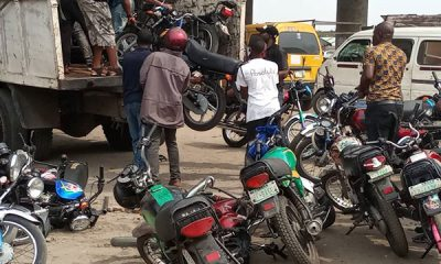 Lagos Impounds 100 Commercial Motorcycles - autojosh