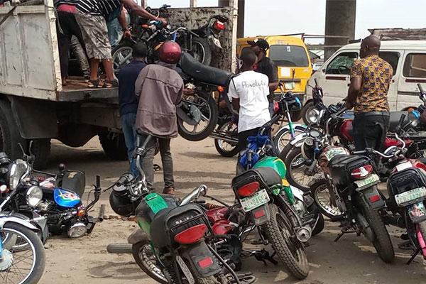 Lagos Impounds 100 Commercial Motorcycles - autojosh