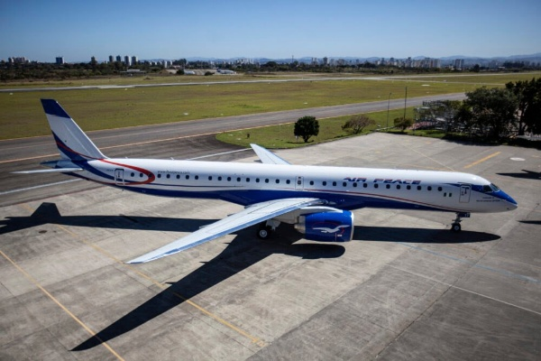Air Peace Takes Delivery Of First Of 13 E195-E2 Aircraft It Ordered From Embraer - autojosh