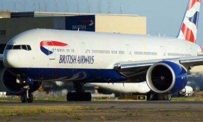 British Airways Boeing Aircraft Suffers Multiple Bird Strikes During Landing In Lagos, Nigeria - autojosh