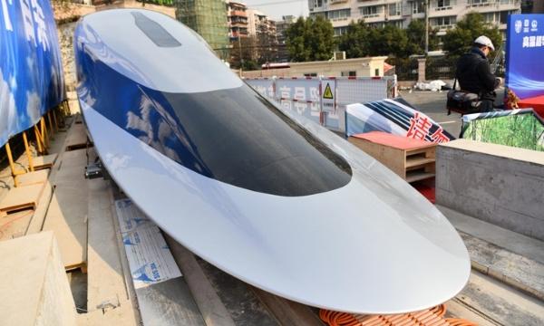 China Unveils 620km/hr Maglev Train That Can Cover 156km Journey Betw. Lagos-Ibadan In Just 15mins - autojosh