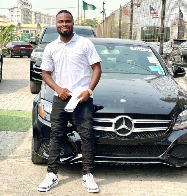 Comedian Sirbalo Buys Mercedes-Benz Weeks After Crashing His Lexus RX 350 SUV - autojosh