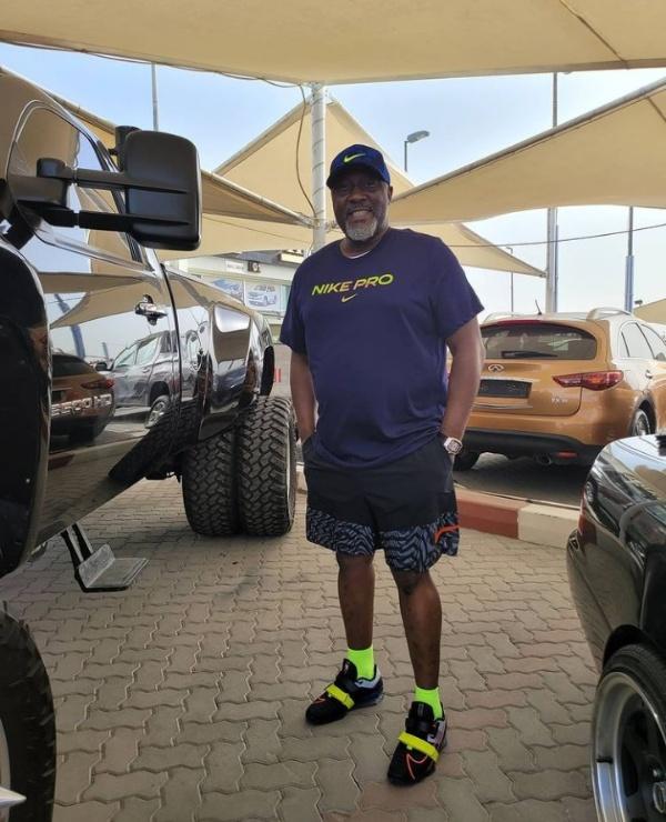 Let Them Say, Dino Melaye Says, As He Flaunts His Customized 6-tyre Chevrolet Silverado 3500HD Heavy-duty Truck - autojosh